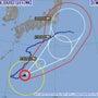 台風10号の進路が異…
