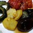 夏野菜の焼き野菜