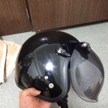 ヘルメット補修