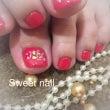 Foot nail♡…