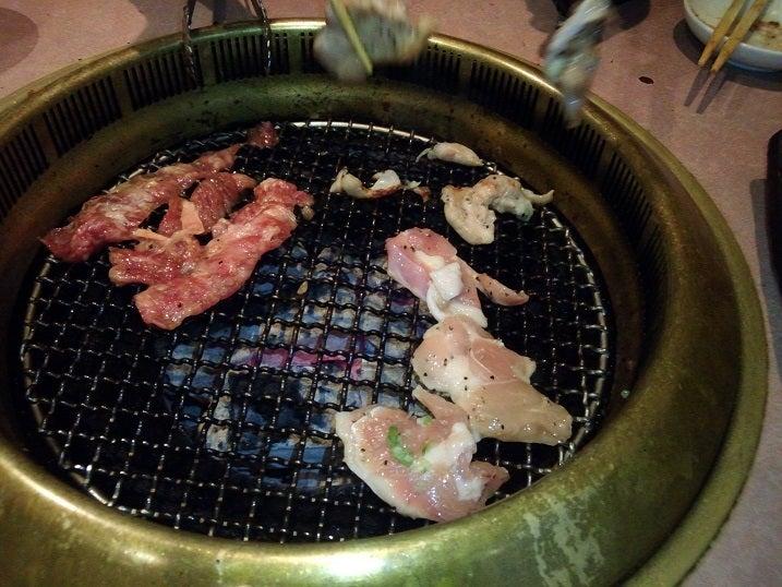 焼肉ソウル【和牛中落ちカルビ+鶏塩】