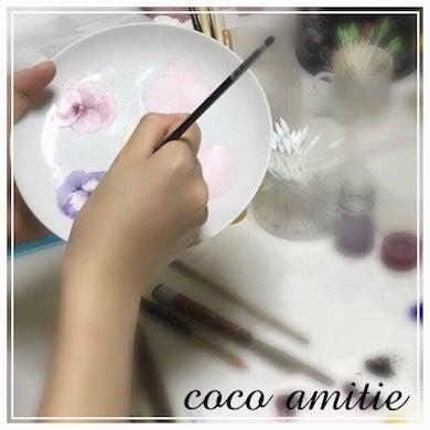 大阪 難波 ポーセラーツ ココアミティエ 作品 http://ameblo.jp/coco-amitie/ 資格 シュールデコール