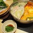 「しゃぶ葉」の麻辣鍋…