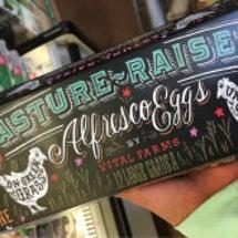 かわいい卵のパッケー…