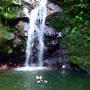 夏休み・お初の滝