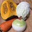 甘い野菜のスープの素…