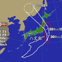 台風直撃!?。