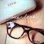 chloeのメガネが…