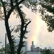 台風一過…虹発見❤️