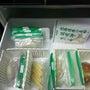 冷凍庫、スッキリ仕分…