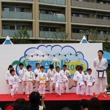 夏祭りで空手演武!