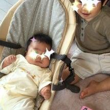 坊っちゃま2歳2カ月…
