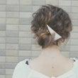 結婚式のヘアセットま…