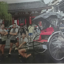 人力車で世界一周