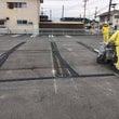 駐車場舗装 白線(黄…