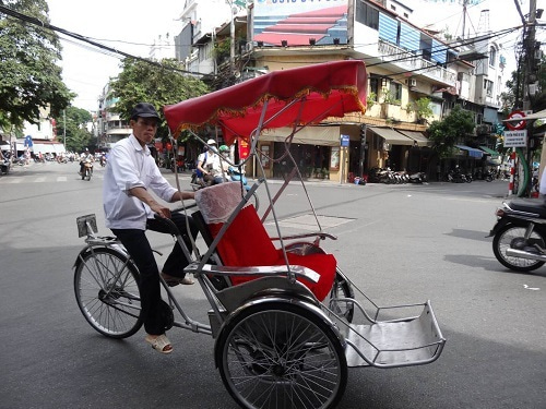 ベトナム ハノイ シクロ