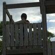 公園でスケッチ(ゝω…