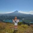 雪頭ヶ岳から秋の富士…