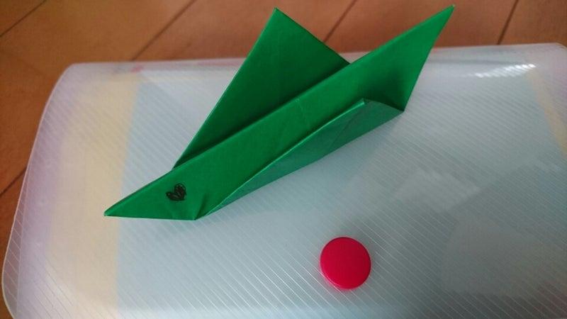 簡単 折り紙 バッタ 折り紙 : ameblo.jp