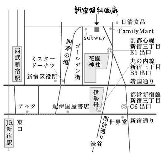 眼科画廊マップ