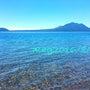 支笏湖が青ーい٩(๑…