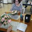 お花いっぱいのテーブ…