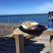 ビールと鮭