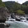 アオリが釣れず渓流へ