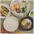 わが家の晩御飯『鮭と…