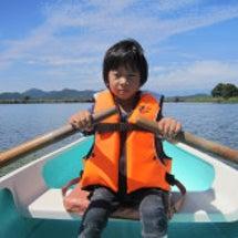 拓、ボートも漕げるよ…