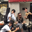 高円寺で歌った。