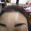 眉毛のタトゥーみたい…