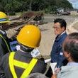 北海道台風被災地を視…