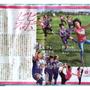 新体操とサッカー女子…