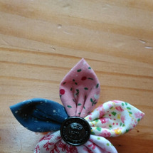 お花のブローチ&ゴム…