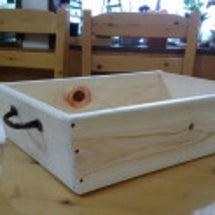 お菓子のボックス完成