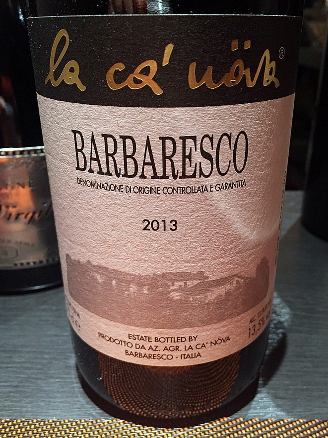 La Ca'Nova  Barbaresco
