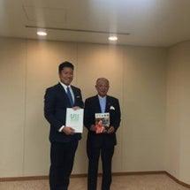 日本財団笹川会長と介…