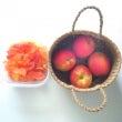 日本酒でリンゴのコン…