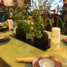 秋のテーブルコーディ…