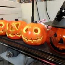 Halloweenの…