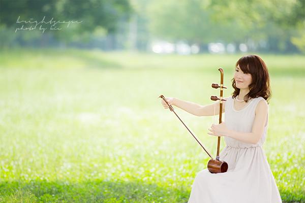 ヘグム奏者・李美香さん