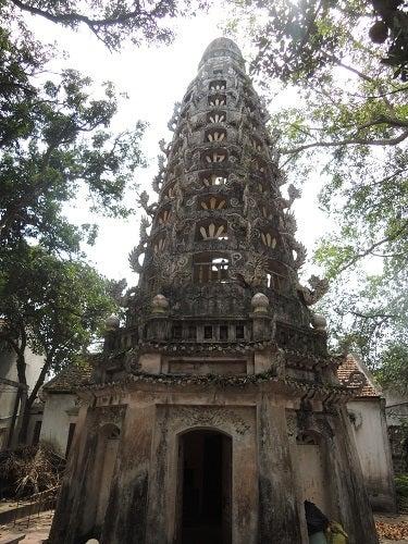 ベトナム ドゥンラム村 ミア寺