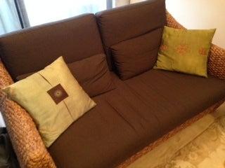 渋谷カウンセリングルームのソファー