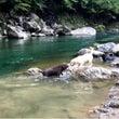 天川で川遊び☆