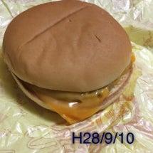 チーズバーガーの実験…