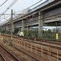 根岸駅の機関車