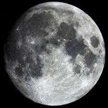 満月でした。