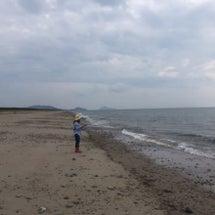 連休初日は伊良湖岬の…