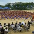 ハカを舞う日本の中学…